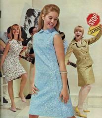 Jeune Leique 1967 (barbiescanner) Tags: vintage retro fashion vintagefashion 60s 60sfashions 1967 seventeen vintageads 60sads teens 60steens jeuneleique
