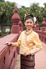 The Bride (jonasfj) Tags: nikond750 50mm normallens nikkor 5014d chiangmai thailand asia southeastasia bride prewedding bridge smile traditionaldress
