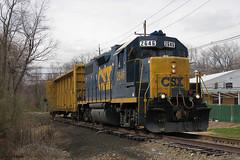 Trenton Industrial (gpo321) Tags: csx csxtransportation csxt2646 trenton ewing trentonindustrial homasote reading trentonsubdivision ln louisvillenashville freighttrain industrialspur industry njdot emd gp382 railroad locomotive