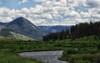 life... enjoying the journey... (Alvin Harp) Tags: sonyilce7 fe24240mm yellowstonenationalpark wyoming 2015 june cloudsstormssunsetssunrises mountains stream mountainmeadow us191 naturesbeauty forest alvinharp