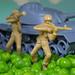 War and peas (grbush) Tags: macromondays macromonday myfavouritenovelfiction macro war toys toystories peas closeup soldier tank warandpeace leotolstoy sonya7 tamronaf90f28disp