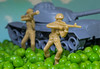 War and peas (grbush) Tags: macromondays macromonday myfavouritenovelfiction macro war toys toystories peas closeup soldier tank warandpeace leotolstoy sonya7 tamronaf90f28disp