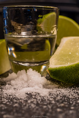 ...I like to drink you with a little salt and lime... (mslabrat13) Tags: citrus macromonday 7dwf drink green lime liquor macro salt tequila shooters