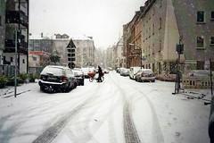 Schnee 2 (Turikan) Tags: olympus mju i fuji c200 dortmund schnee