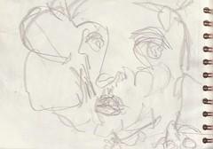 wenn Du gesehen hättest (raumoberbayern) Tags: zeichnung drawing sketch sketchbook skizzenblock dina5 wohnzimmer livingroom robbbilder graphite grafit stillife stillleben naturemorte fernsehen tv