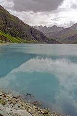 glacial waters (Riex) Tags: glacial bassin lake lac moiry dam barrage montagne mountain alps alpes anniviers valdanniviers valais wallis suisse switzerland schweiz film alpa 10d angenieux retrofocus 28mm f35 cinestill 50d iso50