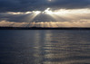 River Mersey (.annajane) Tags: cloud light liverpool merseyside reflection river rivermersey ray sun sunbeam water uk england