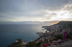 2018 winter on the Riviera [IV] (Olivier So) Tags: france frenchriviera riviera sunset sky clouds roquebrune roquebrunecapmartin monaco montecarlo