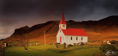 Reyniskirkja (►►M J Turner Photography ◄◄) Tags: reyniskirkja reynisfjall iceland southiceland church hill mountain