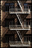 At cross purposes (BlueIsomer) Tags: smileonsaturday stacked balcony fireescape shadows fujifilm fuji xt1 contaxzeisssonnar contax zeiss sonnar cy sonnart2885 85mm manualfocus primelens sanfrancisco contrast