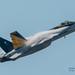VFA-151 Vigilantes' CAG BIrd Lifting Hard Enuf to Make Clouds