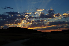 Along way of St James (sam-t1310) Tags: sunrise morning sky skyporn caminodesantiago digital pentaxart 28mm 28 freedom expression