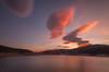 Atardecer. (Amparo Hervella) Tags: pantanodelvado guadalajara españa spain pantano nube atardecer puestadesol reflejo color largaexposición d7000 nikon naturaleza nikond7000 comunidadespañola nwn