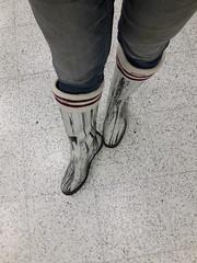 My winter wellies (jazka74) Tags: wellies rubber boots hunter use winter shopping