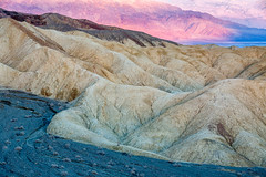 Morning Color (Kirk Lougheed) Tags: 20muleteamcanyon california deathvalley deathvalleynationalpark panamintmountains twentymuleteamcanyon usa unitedstates badlands drywash erosion landscape morning mountain nationalpark outdoor park sunrise wash