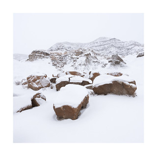 Badlands Snow I