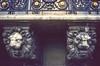 1990 paris various 006 (francois f swanepoel) Tags: 1990 architecture gargoyle gold lion paris sandstone slidefilm slidescans steel streetsofparis various wroughtiron