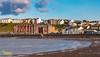 The Bay and Promenade - Peel, Isle of Man (staneastwood) Tags: stanleyeastwood staneastwood coast water shore beach harbour shoreline bay cloud sky isleofman im