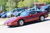 1987 Chevrolet Corvette (crusaderstgeorge) Tags: crusaderstgeorge classiccars cars sweden sandviken arenawheels gävleborg göranssonarena americancars americanclassiccars americancarsinsweden 1987chevroletcorvette 1987 chevrolet corvette redcars