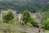 Sainte-Enimie en Lozère, Occitanie France. ( photopade (Nikonist)) Tags: occitanie lozère sainteenimie xiisiècle château châteaudeprades nikond300 nikon apple imac afsdxvrzoomnikkor1685mmf3556ged affinityphoto paysage architecture arbres
