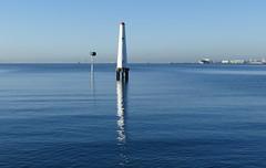 Early morning Port Melbourne. (The Pocket Rocket, On and Off.) Tags: portmelbourne lighthouse portphillipbay melbourne victoria australia