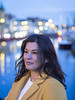 Fadime, Haarlem 2018: Catherine Zeta Jones? (mdiepraam) Tags: fadime haarlem 2018 portrait pretty dutch brunette girl naturalglamour woman spaarne bluehour dof bokeh
