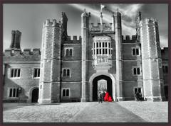 Hampton Court Palace (robin denton) Tags: hamptoncourtpalace hamptoncourt palace london henryviii uk historicbuildings historicbritain history bw blackwhite blackandwhite selectivecolor selectivecolour hdr bwhdr tower niksoftware