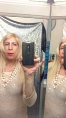 ❤️💋💕 (bevhills2) Tags: tranny transgender makeup lipstick gurl gurlfriend tall ts tg tgurl hot pearls ready