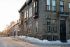 Chilly Sunset (Aymeric Gouin) Tags: canada québec québeccity qc city ville cityscape street rue snow neige light sunset coucher soleil sun chill architecture house maison travel voyage winter hiver fujifilm xt2 aymgo aymericgouin