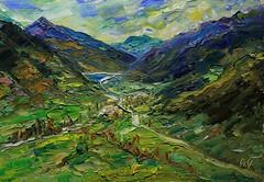 Valle entre montañas. (Arturo Espinosa) Tags: arty