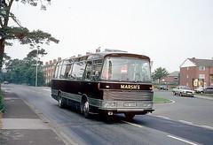 Marsh, Macclesfield ERB 345H (Martha R Hogwash) Tags: marsh macclesfield erb 345h bedford vam70 duple viceroy mansfield district east midland