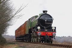 "LNER Class B1 4-6-0 61306 ""Mayflower"" (as 1306), Weybourne - 27 Feb 2009 (Cliff Jones Photography) Tags: northnorfolkrailway mayflower"