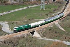 Villanueva de la Tercia (REGFA251013) Tags: herbicida train 319243 adif sintra asturias castilla leon linea gijon gm
