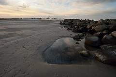 ...meine Mole... (liebeslakritze) Tags: mole beach life leben steine sand himmel ostsee baltic sea