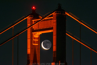 Crescent Moon in the Gate