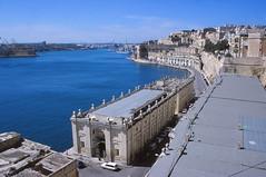 Valletta (demeeschter) Tags: malta valletta city town building architecture heritage historical art street stelmo fort castle bastion