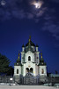 Christ's Resurrection Church Under Moonlight at Twilight. Front View (Guide, driver and photographer in Moscow, Russia) Tags: crimea foros foroschurch orthodoxchurches redcliff resurrectionchurch russia cathedrals churches moonlight twilight ru