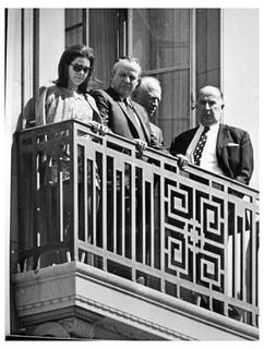Justice officials watch mass arrests: 1971