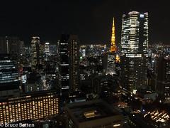 180112 Ark Hills.jpg (Bruce Batten) Tags: subjects honshu locations urbanscenery buildings night japan tokyo minatoku tōkyōto jp rainbow transportationinfrastructure bridges