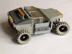 G108 (taxonlazar) Tags: rover classic classicspace space neoclassicspace vehicule lego essieux neogray grayclassicspaceman canopies pearl gold pearlgold