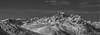 Panoramic Snow (N/B) (Frédéric Fossard) Tags: panorama monochrome noiretblanc blackandwhite landscape sky montagne mountain snow neige snowcapped vallée vallon valley alpes savoie belledonne maurienne picdemontagne flancdemontagne mountainridge mountainrange mountainpeaks mountainside nature sauvage cimes crêtes arêtes