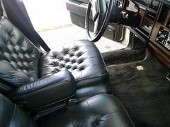 1985 Cadillac Seville (smokuspollutus) Tags: 1985 cadillac seville interior exterior green