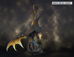 Narthrax Dragon (whitemetalgames.com) Tags: reaper reaperminis reaperminiatures pathfinder dnd dd dungeons dragons dungeonsanddragons 35 5e whitemetalgames wmg white metal games painting painted paint commission commissions service services svc raleigh knightdale knight dale northcarolina north carolina nc hobby hobbyist hobbies mini miniature minis miniatures tabletop rpg roleplayinggame rng warmongers dragon scales narthrax electrum 77279