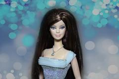 Birthstone Barbie doll March (alenamorimo) Tags: barbie barbiedoll barbiecollector doll