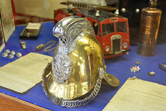 Brass Fire Helmet (Bri_J) Tags: nationalemergencyservicesmuseum sheffield southyorkshire uk museum emergencyservices nikon d7200 brass firehelmet firebrigade