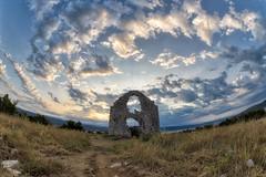 0677 Ruins Under The Morning Sky (Hrvoje Simich - gaZZda) Tags: sunrise morning clouds outdoors noperson building church ruins sun adriatic krk croatia europe nikon nikond750 samyang1228 gazzda hrvojesimich