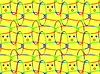 Or on Yellow? (merripat) Tags: happybirthdaykacey pattern patterning gimp brush