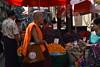 DSC_7944 (Kent MacElwee) Tags: monk buddhistmonk yangon rangoon myanmar burma southeastasia asia market people produce