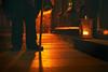 Follow my light. I'll protect you. (Gudzwi) Tags: followmylight protection aufpassen folgemeinemlicht licht light orange dunkel darkness wernigerode harz laterne lantern lightopia smileonsaturday nachtwächter nightwatchman watchman wächter strase street streetphotography streetlife kopfsteinpflaster cobblestones nacht night 7dwf landscapes