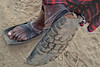 Tracción (Don César) Tags: masai people feet pies foot pie zapato shoe chancla tire tanzania africa tansania village